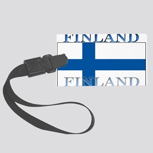 Finland Large Luggage Tag