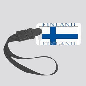 Finland Small Luggage Tag
