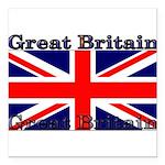 GreatBritain Square Car Magnet 3