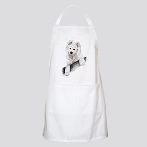 Samoyed Puppy BBQ Apron