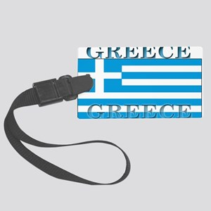 Greeceblack Large Luggage Tag