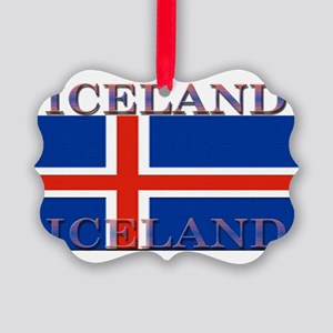 Iceland Picture Ornament