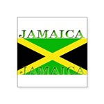 Jamaica Square Sticker 3