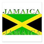 Jamaica Square Car Magnet 3