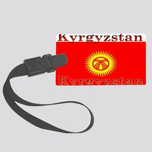 Kyrgyzstan Large Luggage Tag