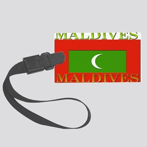 Maldives Large Luggage Tag