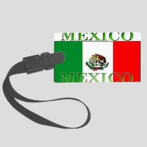Mexicoblack Large Luggage Tag