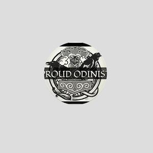 Proud Odinist Mini Button