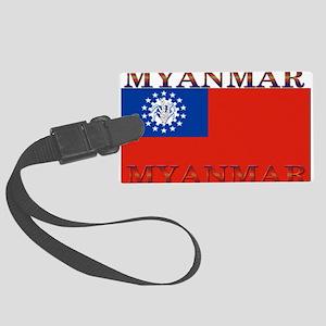 Myanmar Large Luggage Tag