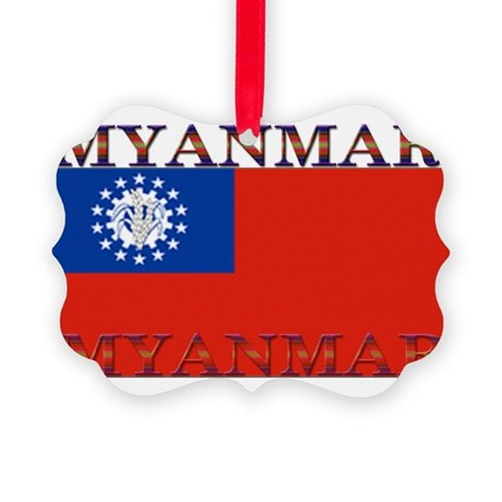 Myanmar.jpg Picture Ornament