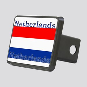 Netherlandsblack Rectangular Hitch Cover
