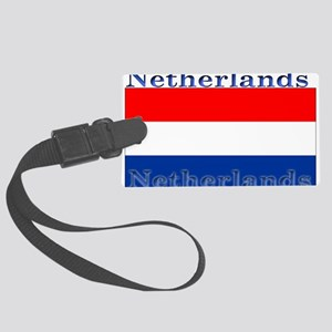 Netherlandsblack Large Luggage Tag