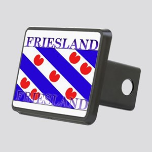 Frieslandblack Rectangular Hitch Cover