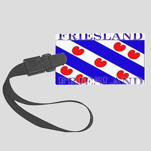 Frieslandblack Large Luggage Tag