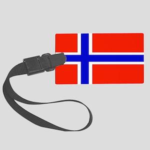 Norwayblank Large Luggage Tag