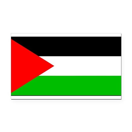 Palestineblank.jpg Rectangle Car Magnet