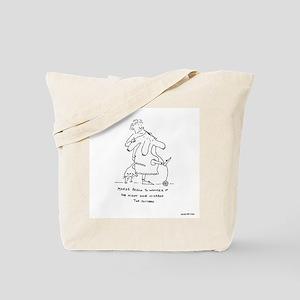 Marge Began to Wonder Knitting Tote Bag