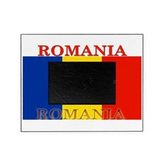 Romania.png Picture Frame