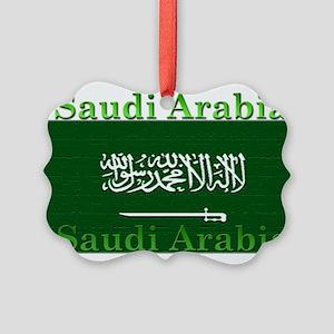 SaudiArabia Picture Ornament