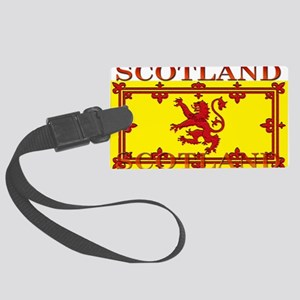 Scotland Large Luggage Tag