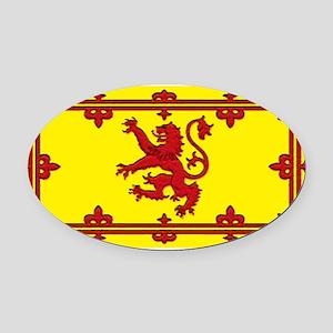 Scotlandblank Oval Car Magnet