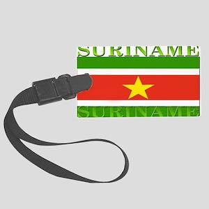 Suriname Large Luggage Tag