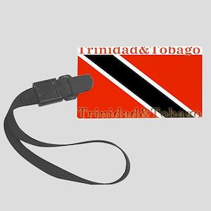 TrinidadTobagoforblack Large Luggage Tag