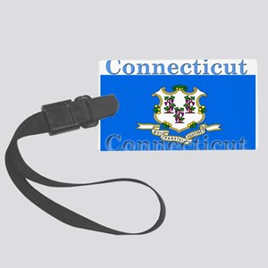 Connecticut Large Luggage Tag