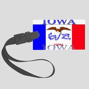 Iowa Large Luggage Tag