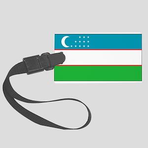Usbekistanblank Large Luggage Tag