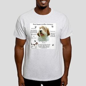 PBGV 1 Ash Grey T-Shirt