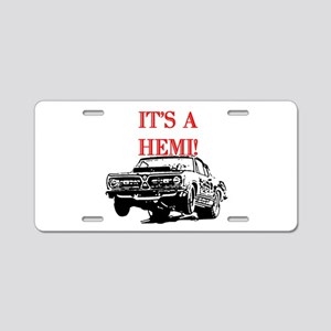 AFTMItsAHemi! Aluminum License Plate