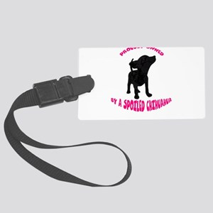 SPOILED Large Luggage Tag