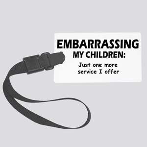 Embarrassingblue Large Luggage Tag
