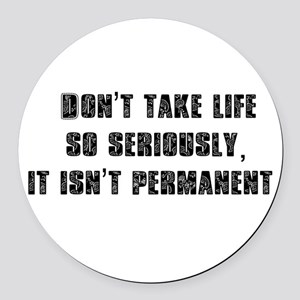 Dontnew Round Car Magnet