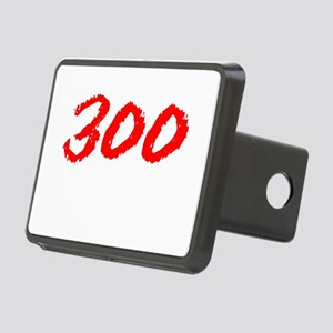 300Black Rectangular Hitch Cover