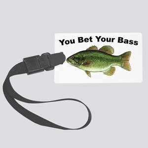 Youbetyourbass Large Luggage Tag