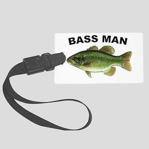 Bassman Large Luggage Tag