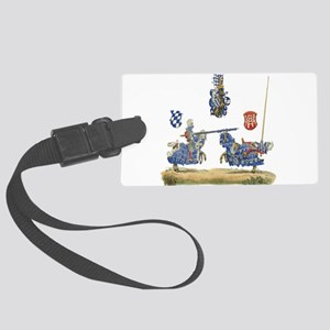 Knights1 Large Luggage Tag