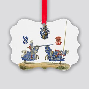 Knights1 Picture Ornament