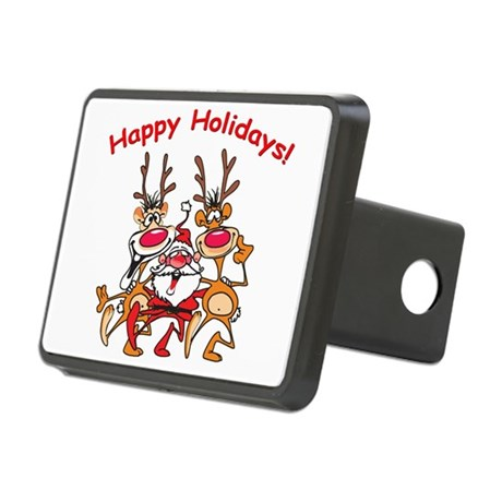 2deer1S.png Rectangular Hitch Cover