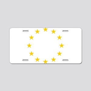 European Union Flag Aluminum License Plate
