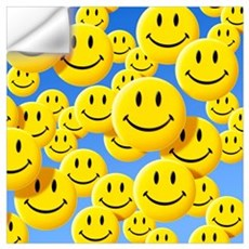 Smiley face symbols Wall Decal