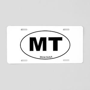 Montana State Aluminum License Plate