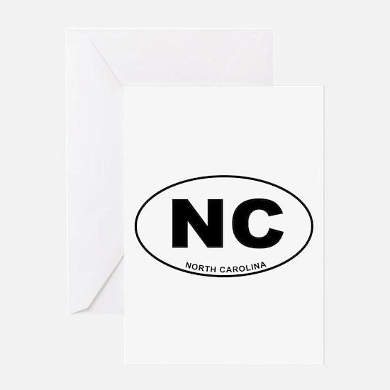 North Carolina State Greeting Card
