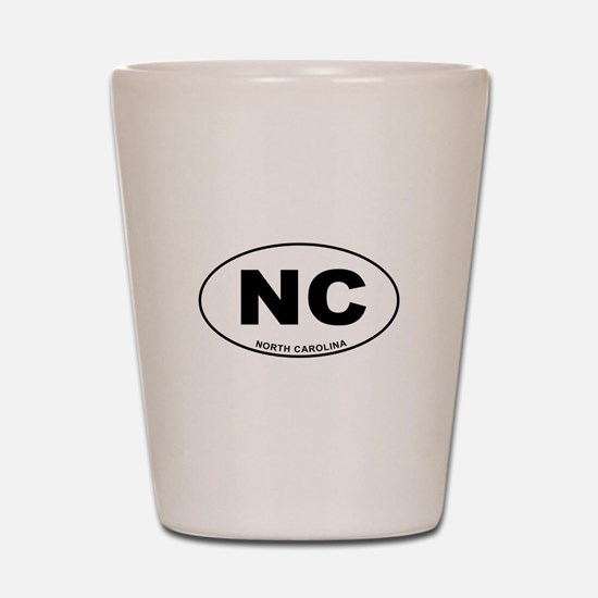 North Carolina State Shot Glass