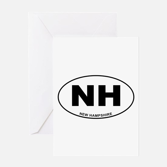New Hampshire State Greeting Card
