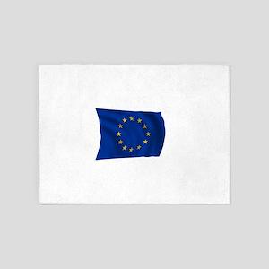 European Union Flag 5'x7'Area Rug
