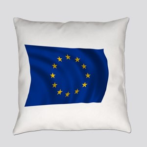 European Union Flag Everyday Pillow