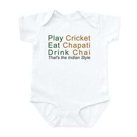 Cricket Chai Chapati Infant Bodysuit